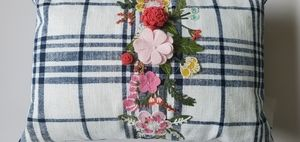 Pier1: floral  accent  pillow